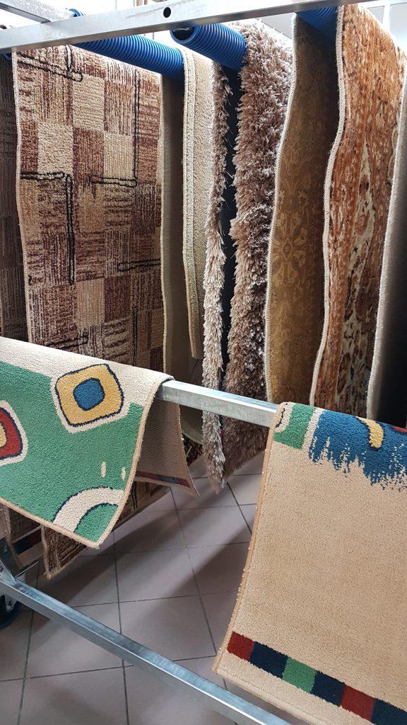 Pranie dywanów na wskroś - Suszenie dywanu